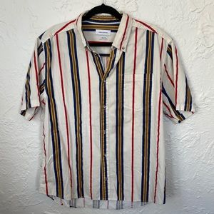 Urban Outfitters Vertical Stripe Button Down
